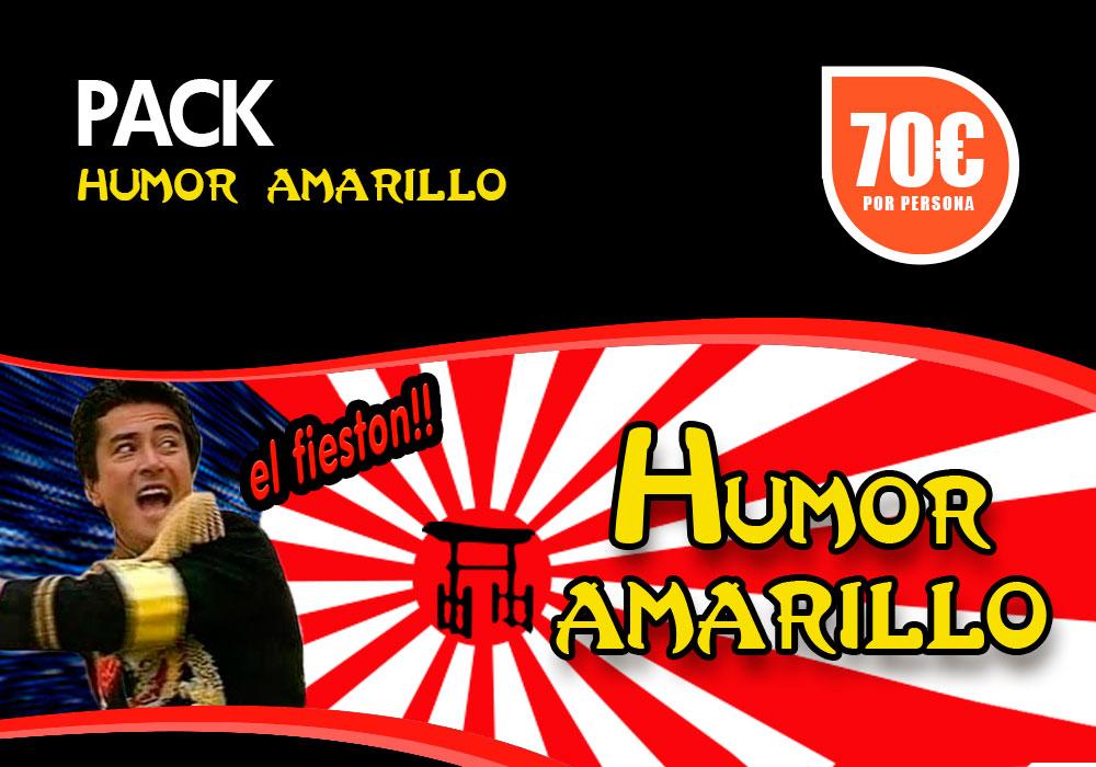 Pack humor amarillo en Bilbao