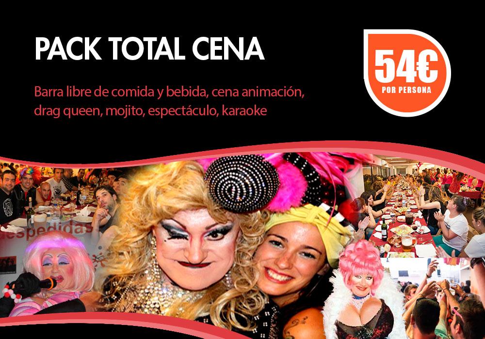 Cena Espectáculo Bilbao